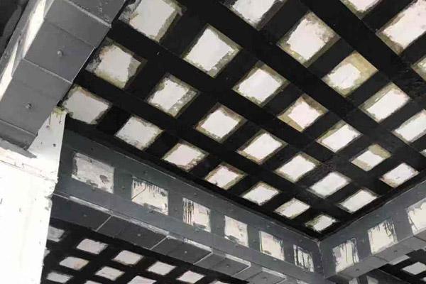 上海嘉定厂区建筑物加固施工